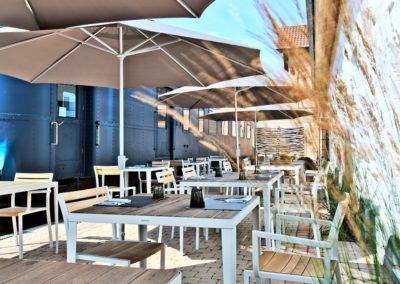 Restaurant Gare d'Hamois Terrasse